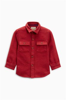 Long Sleeve Utility Shirt (3mths-6yrs)