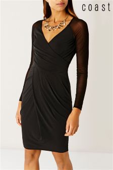 Coast Black Jenn Jersey Dress