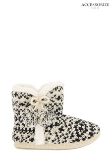 Joules Silver Ditsy Wellies