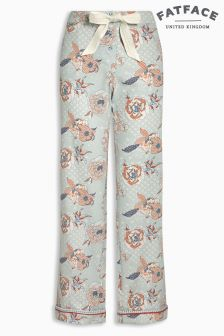 Fat Face Chambray Floral Classic Pant