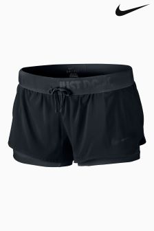 Nike Black Full Flex 2-In-1 Training Short