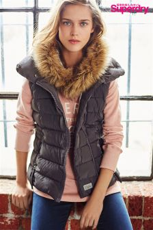 Superdry Grey Nordic Gilet