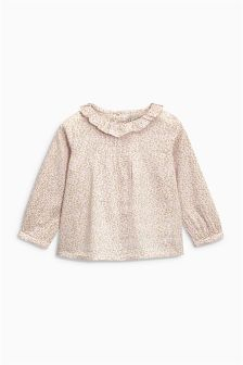 Ditsy Ruffle Blouse (3mths-6yrs)
