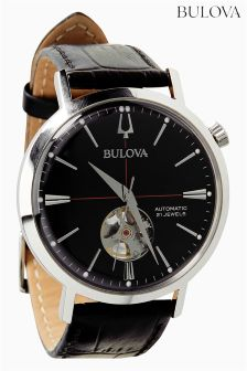 Bulova Automatic Black Watch