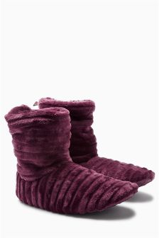 Ripple Slipper Boots