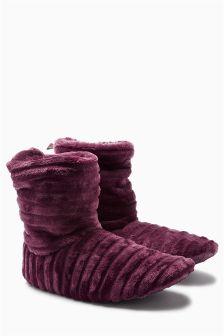 Ripple Slipper Boots