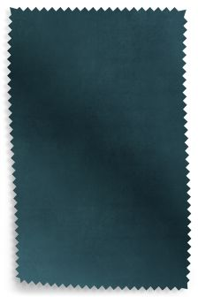 Matt Velvet Dark Teal Fabric Roll