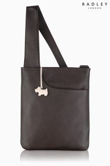 Radley® Brown Pocket Cross Body Bag