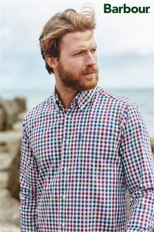 Barbour® Tailored Fit Bibury Gingham Shirt