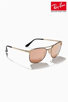 Ray-Ban® Pink Gold Signet Sunglasses