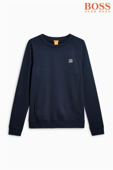 Boss Orange Wheel Crew Neck Sweat