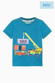 Baker by Ted Baker Blue Truck Appliqué Top