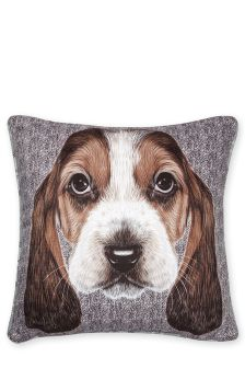 Beagle Printed Cushion