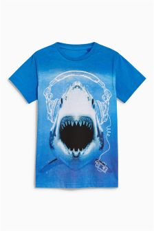 Shark T-Shirt (3-16yrs)