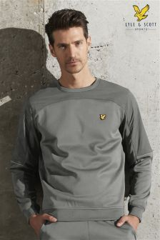 Lyle & Scott Grey Crew