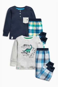 Woven Check Pyjamas Two Pack (12mths-8yrs)