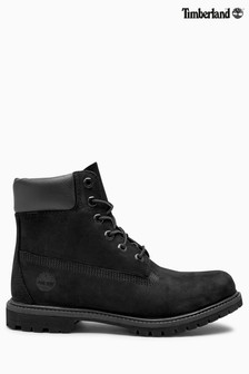 "Timberland® Black 6"" Inch Premium Icon Boot"