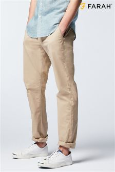 Farah Sand Pleated Trouser