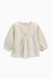 Lace Detail Blouse (3mths-6yrs)