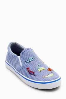 Dinosaur Slip-On Shoes (Younger Boys)
