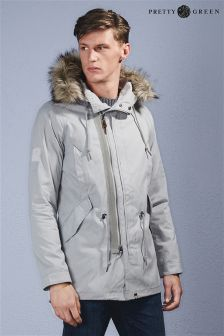 Pretty Green Grey Parka