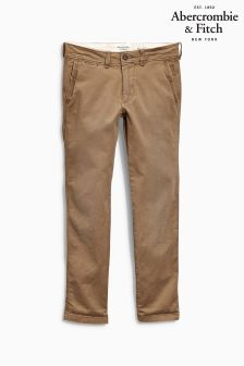 Abercrombie & Fitch Tan Chino
