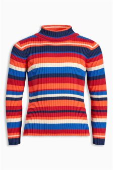 Stripe Roll Neck (3-16yrs)