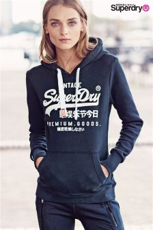 Superdry Eclipse Navy Premium Goods Entry Hoody