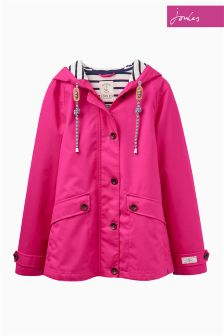 Joules Coast Pink Hooded Jacket