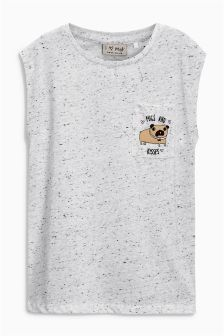 Graphic Pocket T-Shirt (3-16yrs)