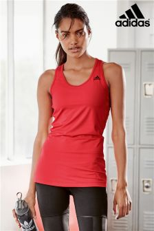 adidas Red Athletic Tank
