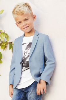 Chambray Suit Jacket (12mths-16yrs)
