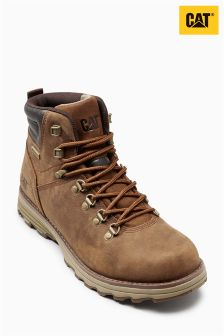 Cat® Brown Sugar Sire WP Lace Boot