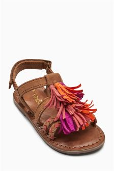 Tassel Sandals (Younger Girls)