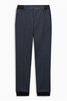 Check Cuff Trousers (3-16yrs)