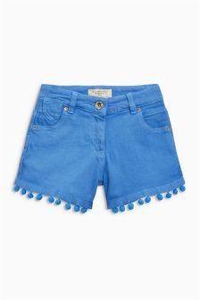 Pom Pom Shorts (3-16yrs)