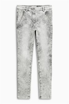 High Waist Skinny Jeans (3-16yrs)