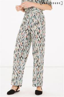 Warehouse Zig Zag Print Trouser