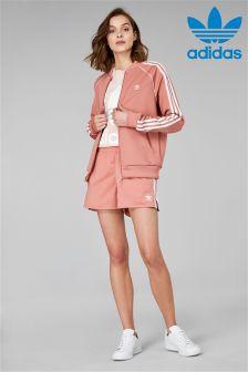 adidas Originals Ash Pink 3 Stripe Short
