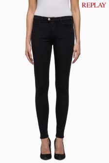 Replay Touch Black Skinny Jean