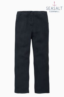 Seasalt Navy Carhales Trouser