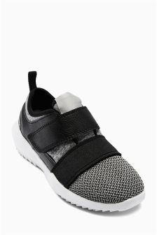 Easy Touch Strap Trainers (Older Boys)