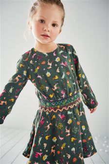 Character Print Dress (3mths-6yrs)