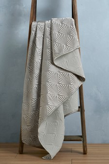 Deco Geo Quilted Throw