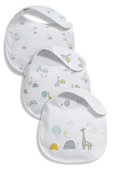 Delicate Regular Bibs Three Pack