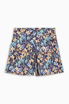Floral Printed Shorts (3mths-6yrs)