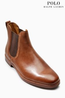 Ralph Lauren Tan Dillian Chelsea Boot