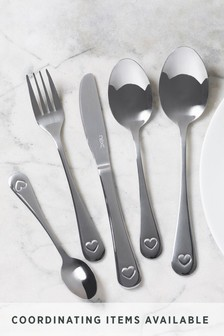 32 Piece Heart Cutlery Set