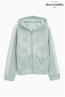 Abercrombie & Fitch Mint 92 Zip Hoody