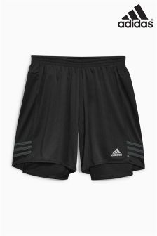 adidas Run Black Response Dual Short